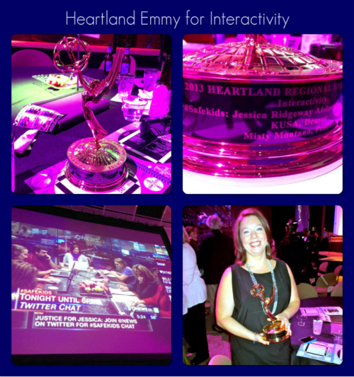 Honored to win Heartland Emmy for Interactivity